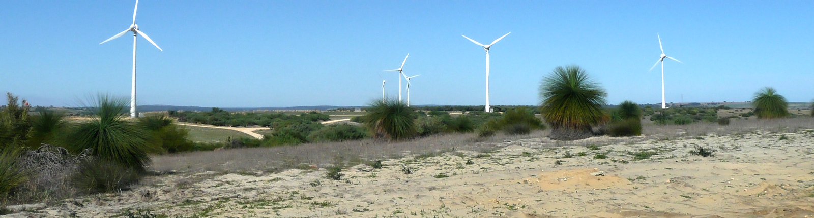 Contraflow creating power to lancelin wind farm